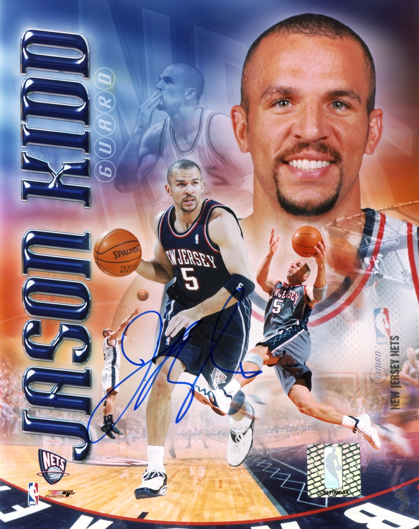 Jason Kidd Signed Photo