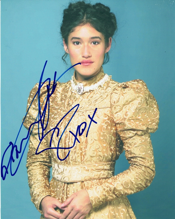 Q'Orianka Kilcher Signed Photo