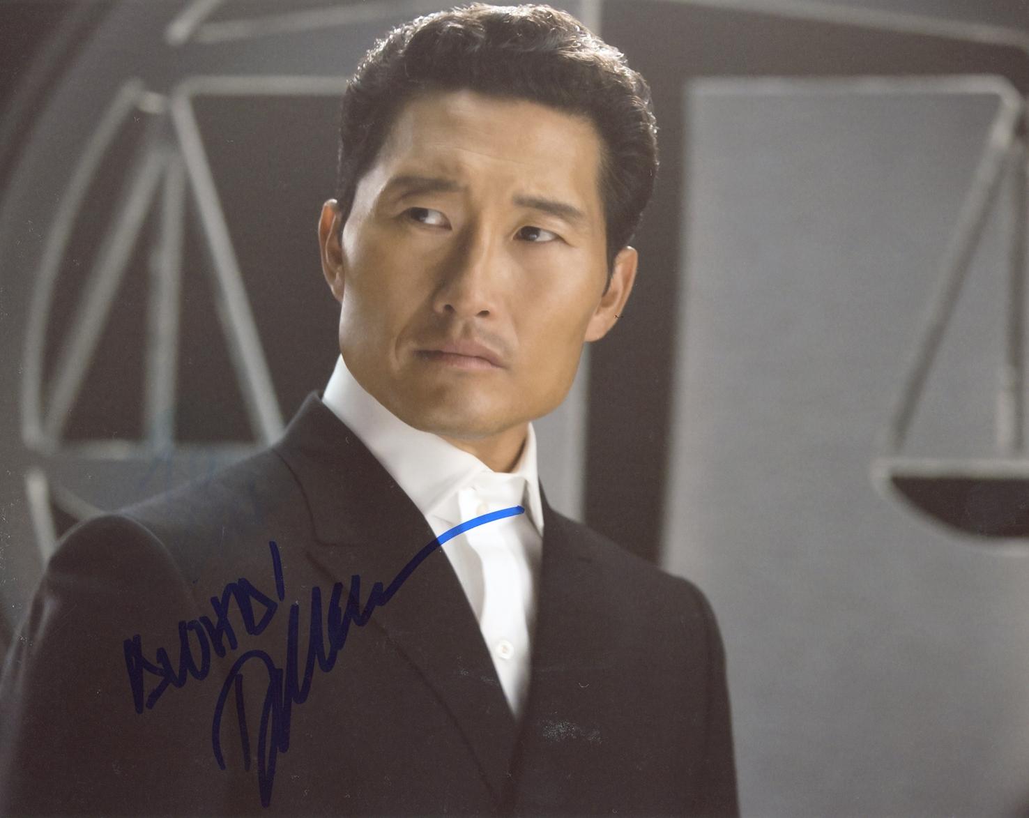 Daniel Dae Kim Signed Photo