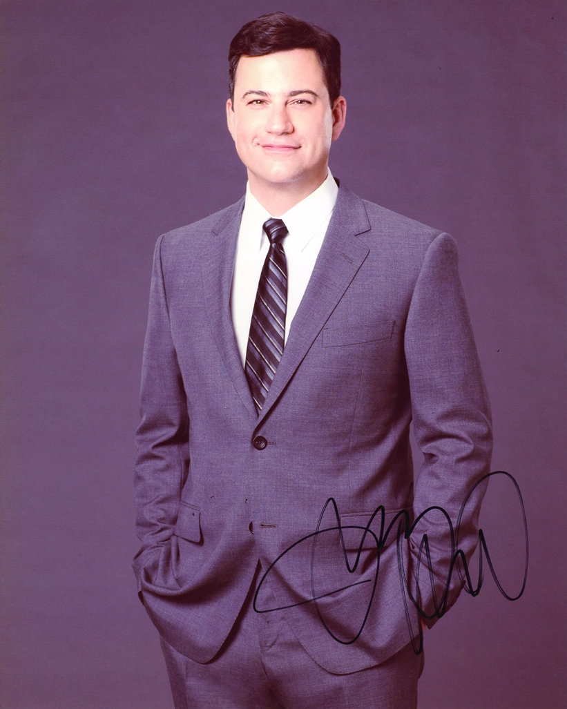 Jimmy Kimmel Signed Photo