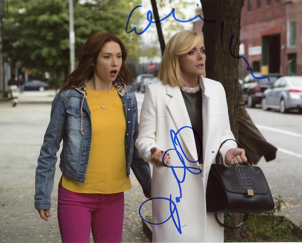 Ellie Kemper & Jane Krakowski Signed Photo