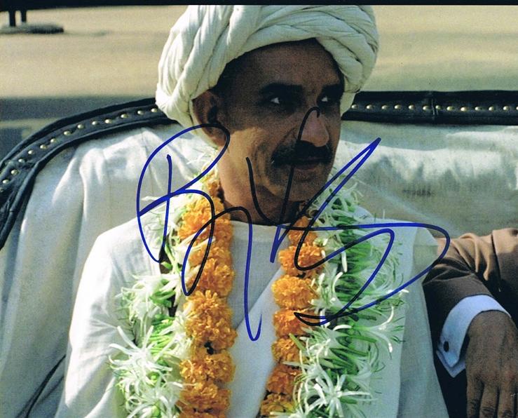 Ben Kingsley Signed Photo