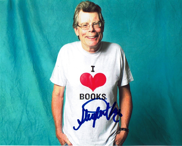 Stephen King Signed Photo
