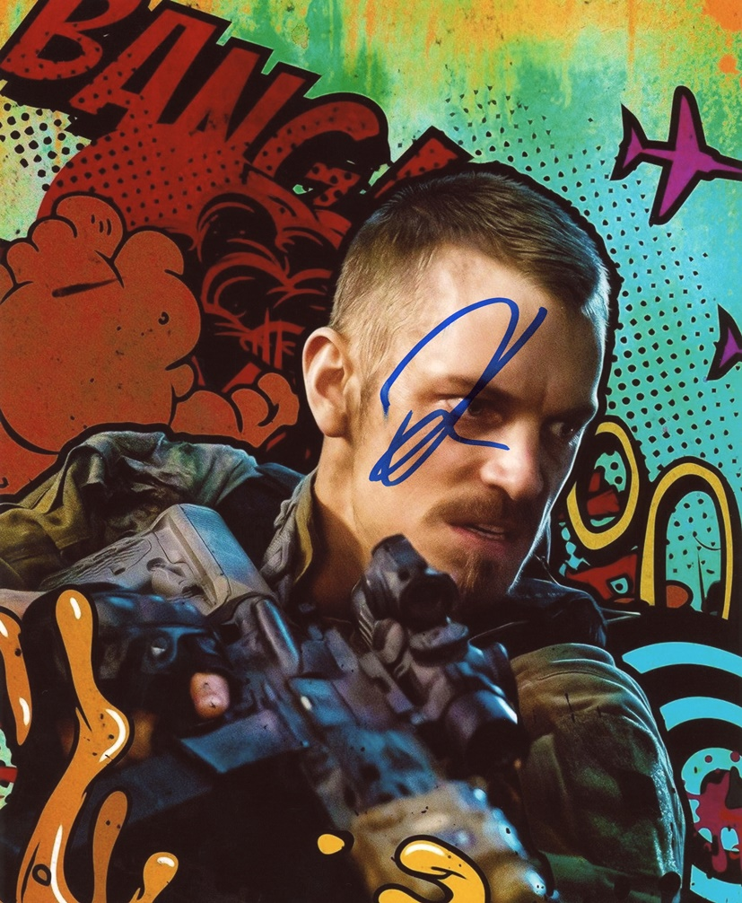 Joel Kinnaman Signed Photo