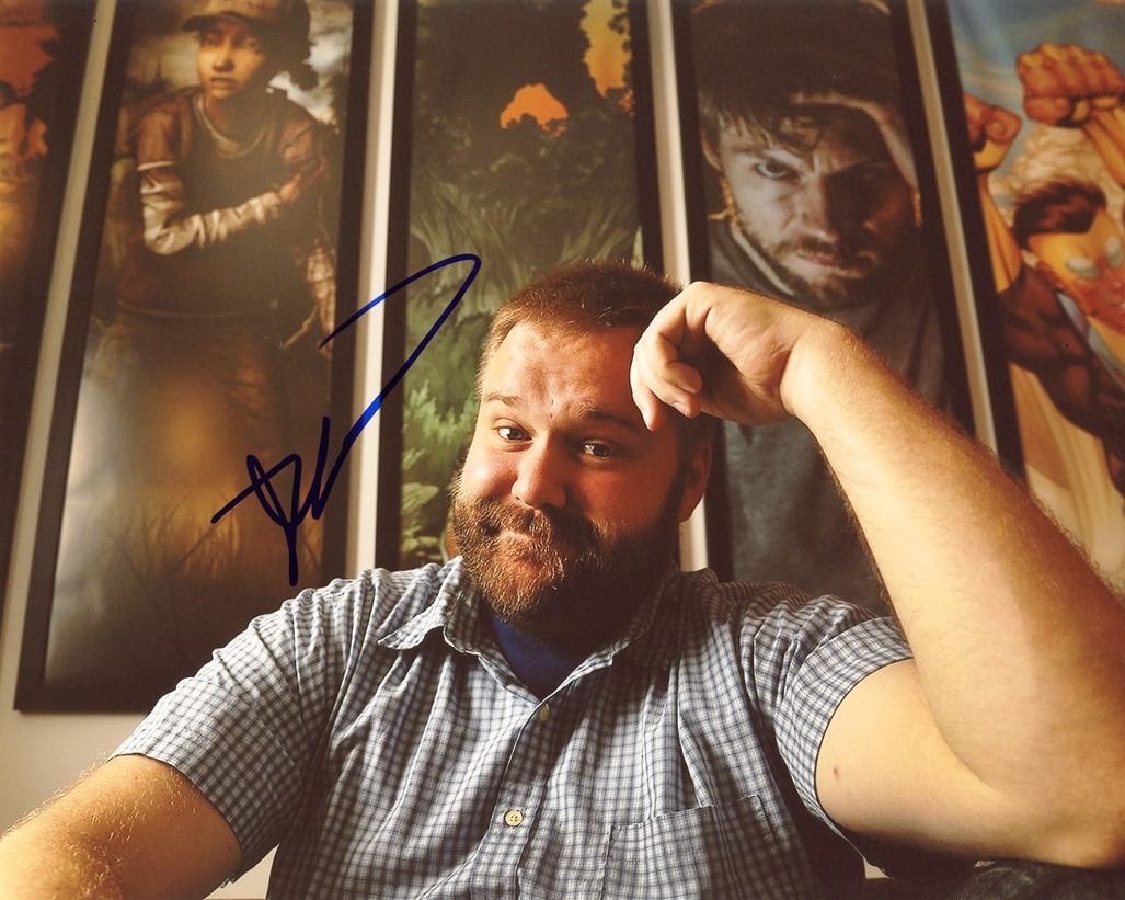 Robert Kirkman Signed Photo
