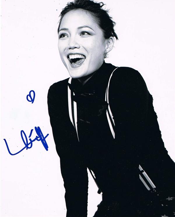 Pom Klementieff Signed Photo