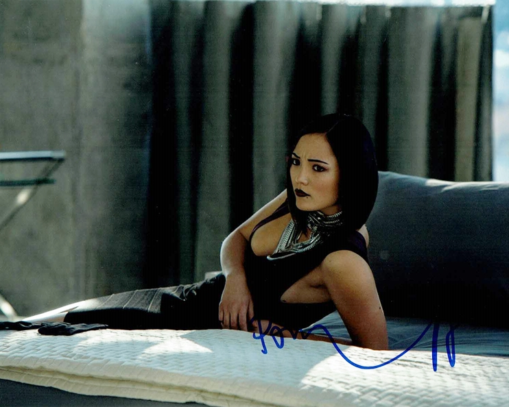 Pom Klementieff Signed Photo