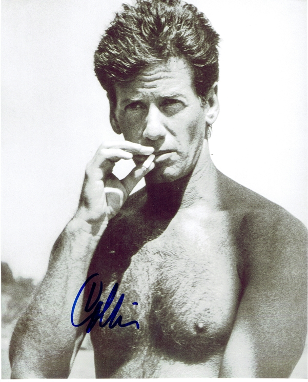 Calvin Klein Signed Photo