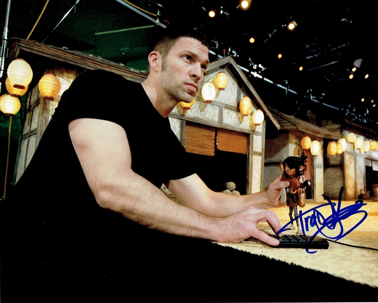 Travis Knight Signed Photo