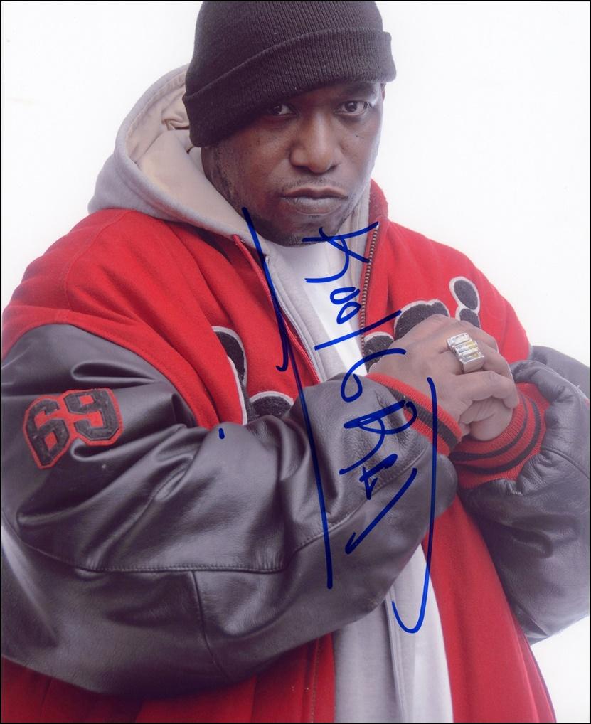 Kool G Rap Signed Photo