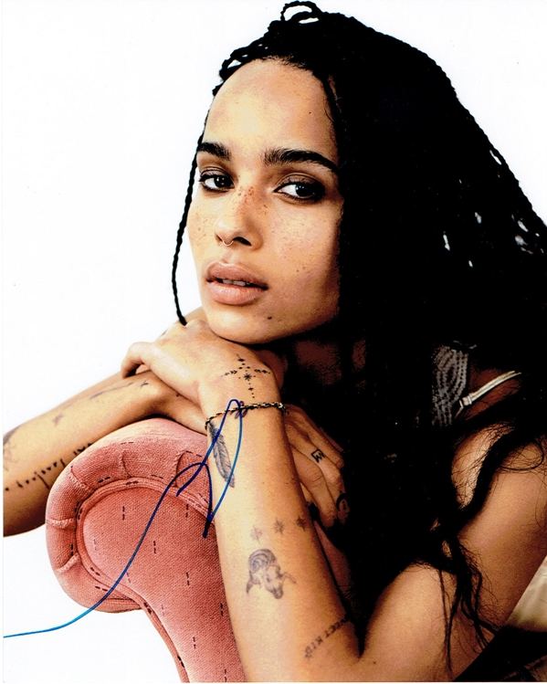 Zoe Kravitz Signed Photo