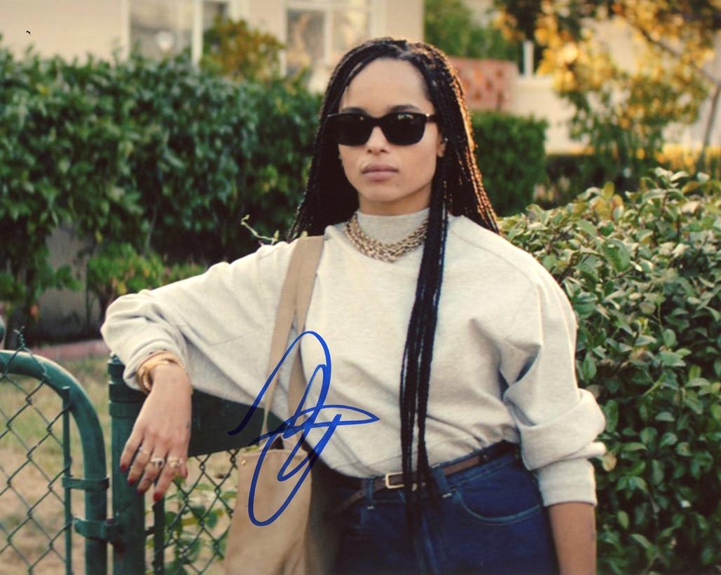 Zoe Kravitz Signed Photo