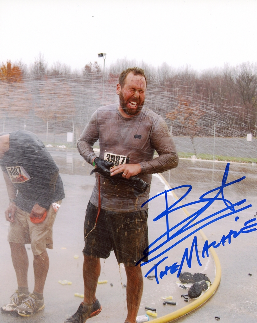 Bert Kreischer Signed Photo