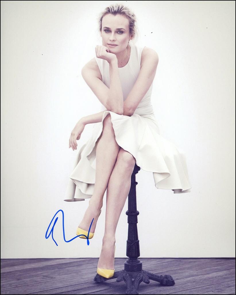 Diane Kruger Signed Photo