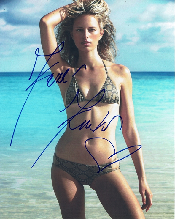 Karolina Kurkova Signed Photo