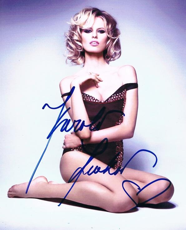 Karolina Kurkova Signed Photo