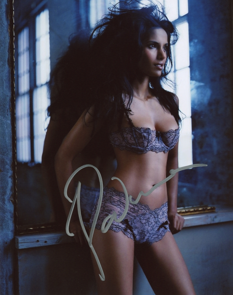 Padma Lakshmi Signed Photo