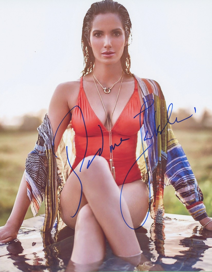 Padma Lakshmi Signed Photo