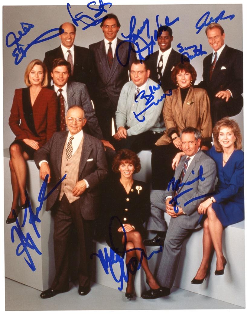 LA Law Signed Photo