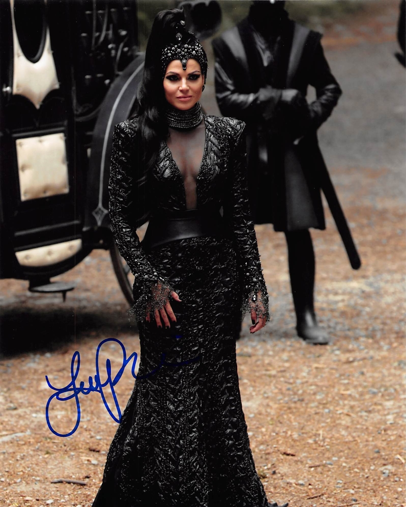 Lana Parrilla Signed Photo