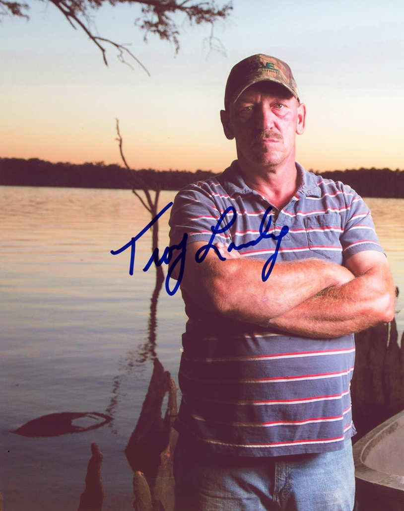 Troy Landry Signed Photo