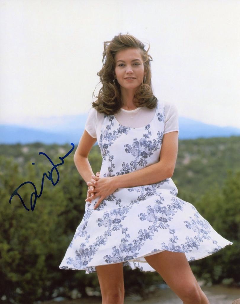 Diane Lane Signed Photo