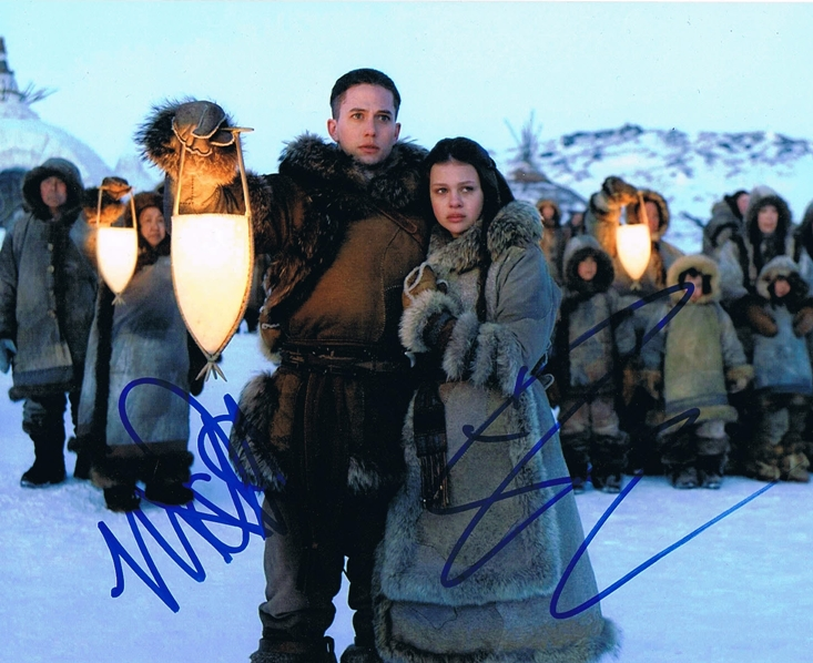 Nicola Peltz & Jackson Rathbone Signed Photo