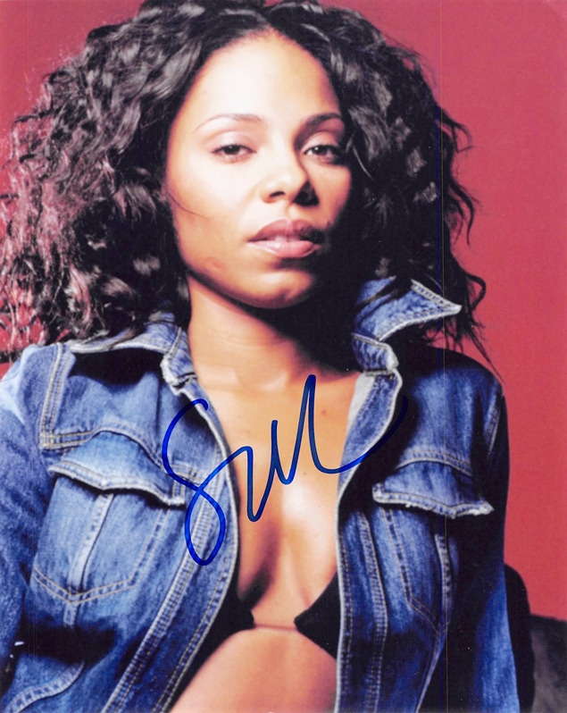 Sanaa Lathan Signed Photo