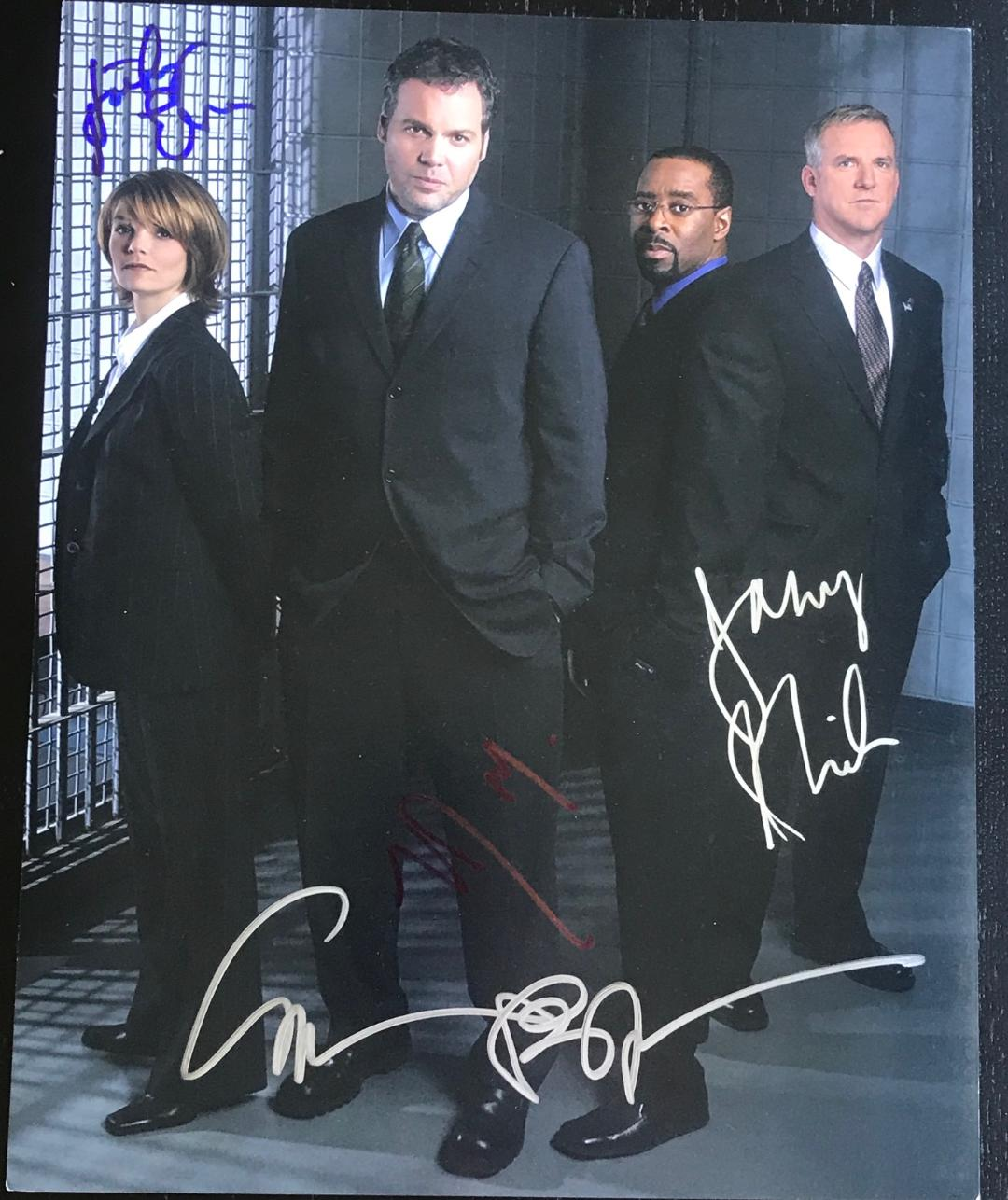 Law & Order: Criminal Intent Signed Photo