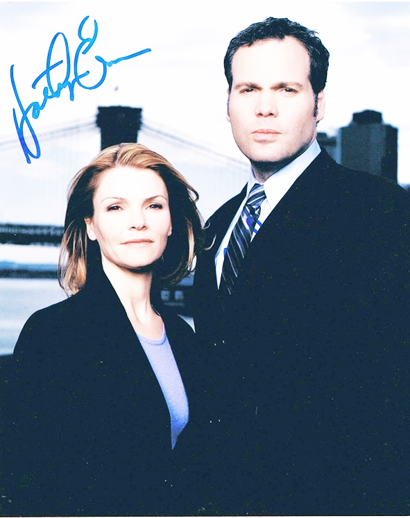 Vincent D'Onofrio & Kathry Erbe Signed Photo