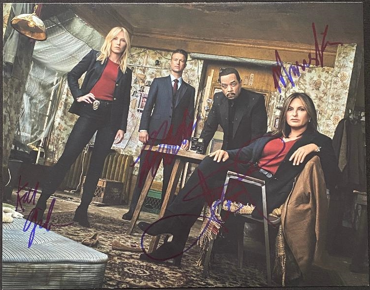 Law & Order: SVU Signed Photo