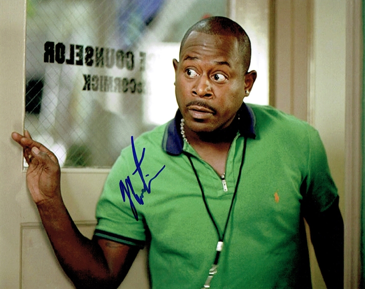 Martin Lawrence Signed Photo