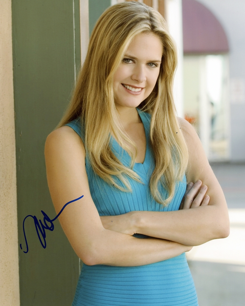 Maggie Lawson Signed Photo