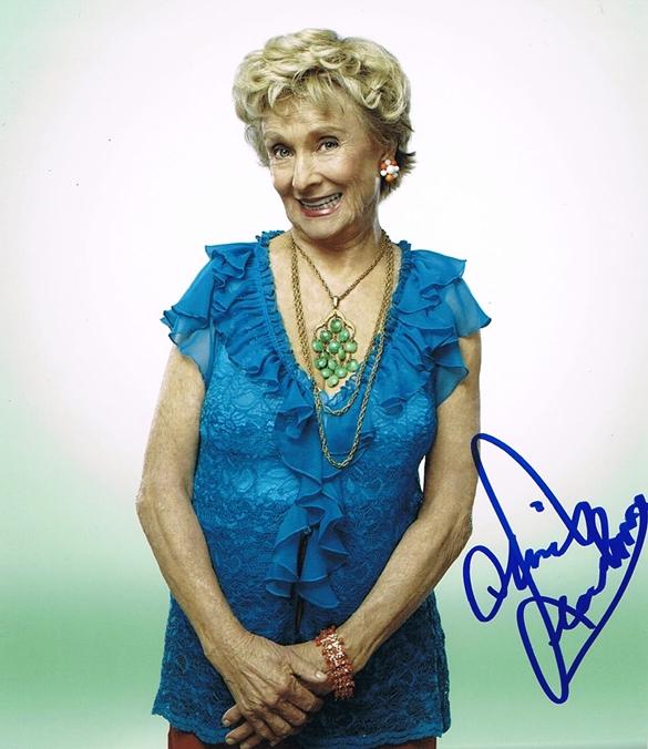 Cloris Leachman Signed Photo