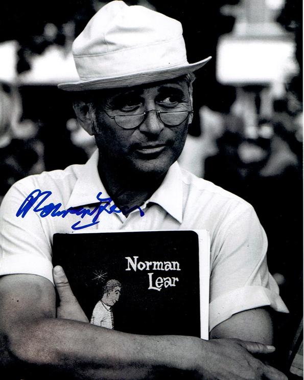 Norman Lear Signed Photo