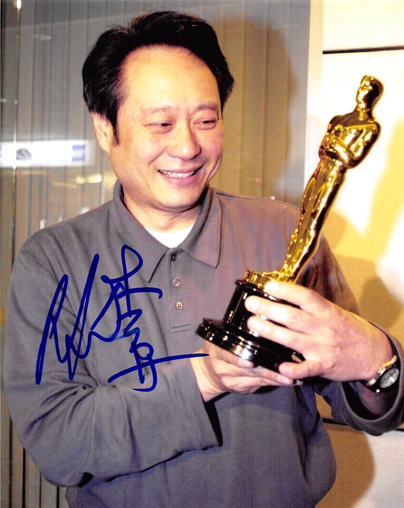 Ang Lee Signed Photo
