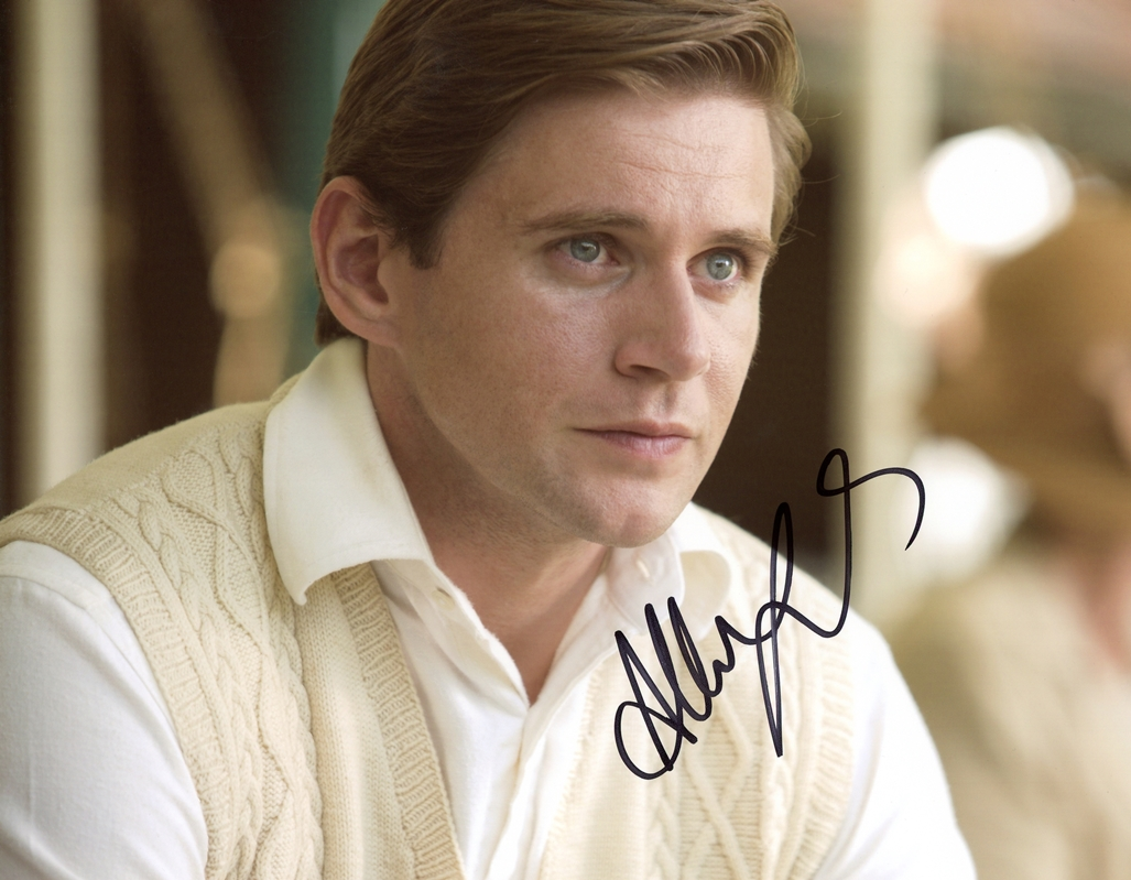 Allen Leech Signed Photo