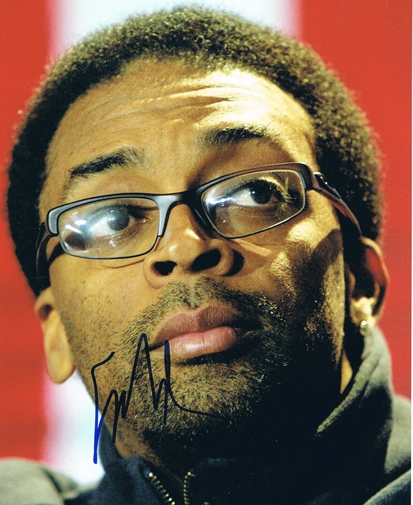 Spike Lee Signed Photo