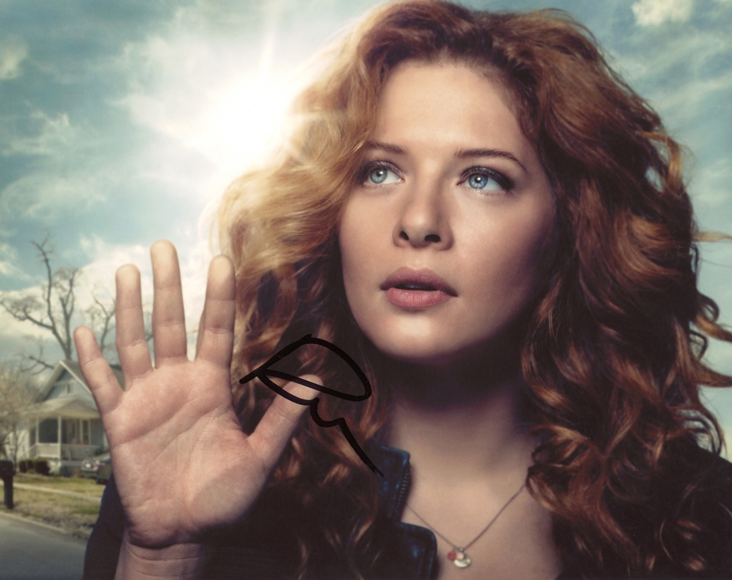 Rachelle Lefevre Signed Photo