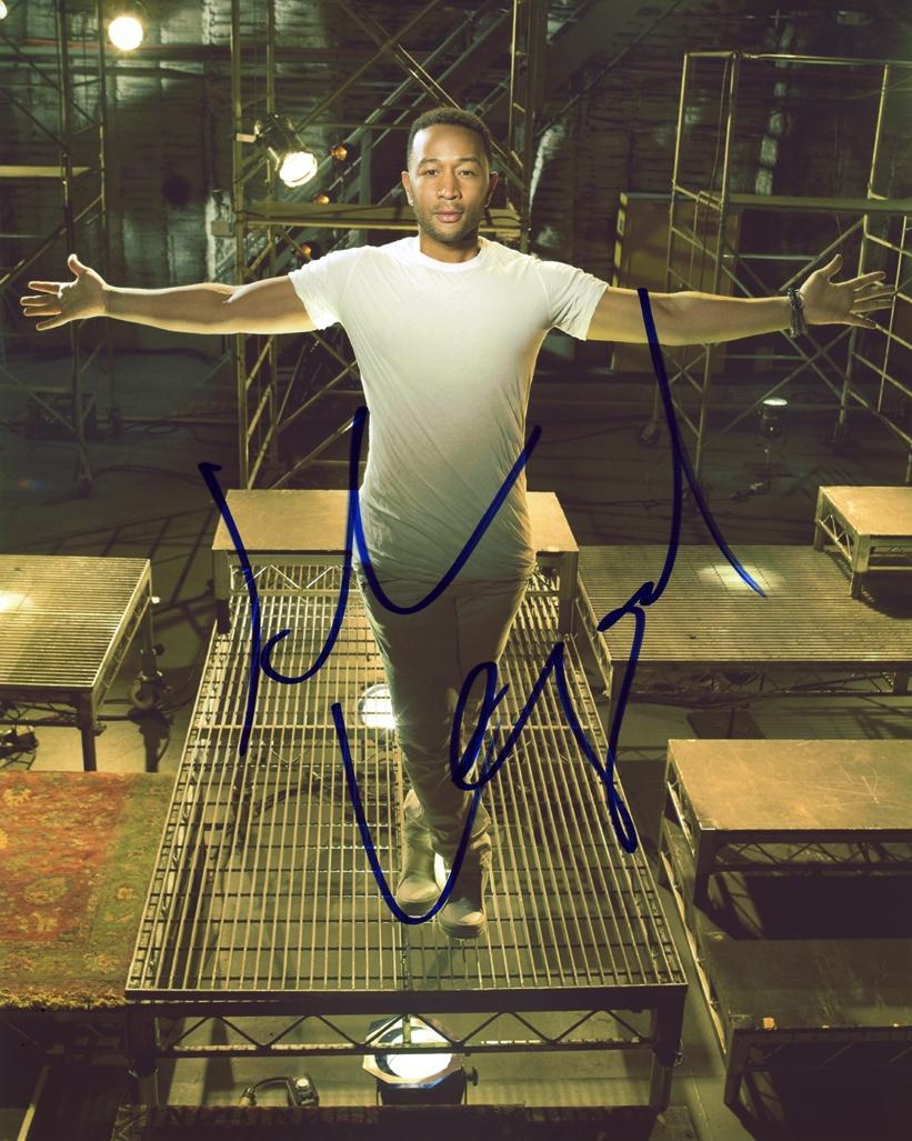 John Legend Signed Photo