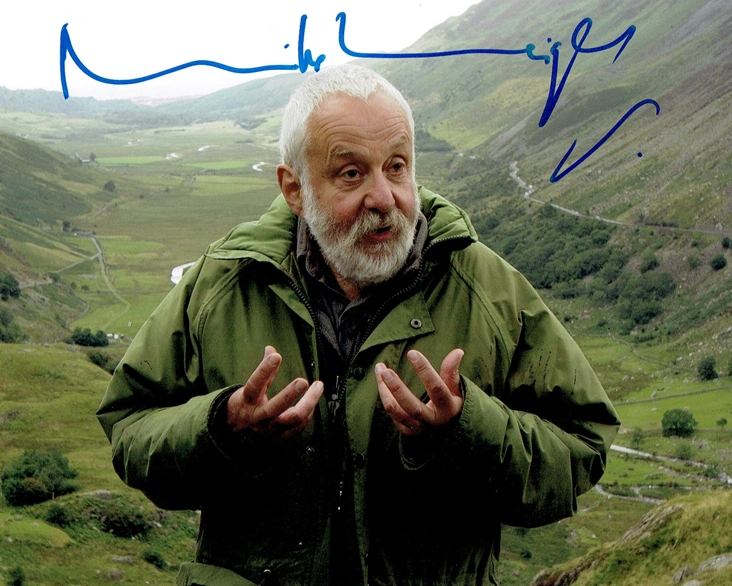 Mike Leigh Signed Photo