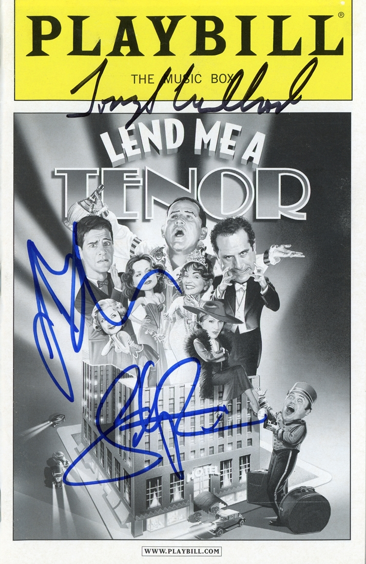 Lend Me a Tenor Signed Playbill