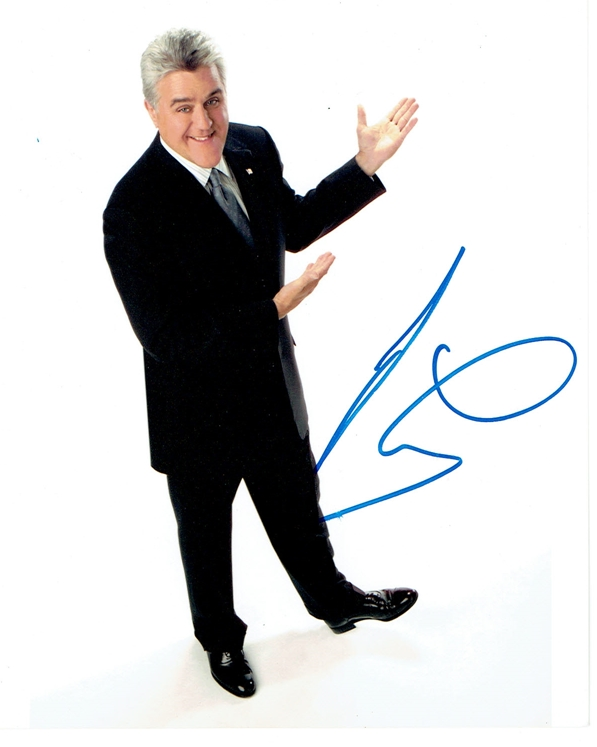 Jay Leno Signed Photo