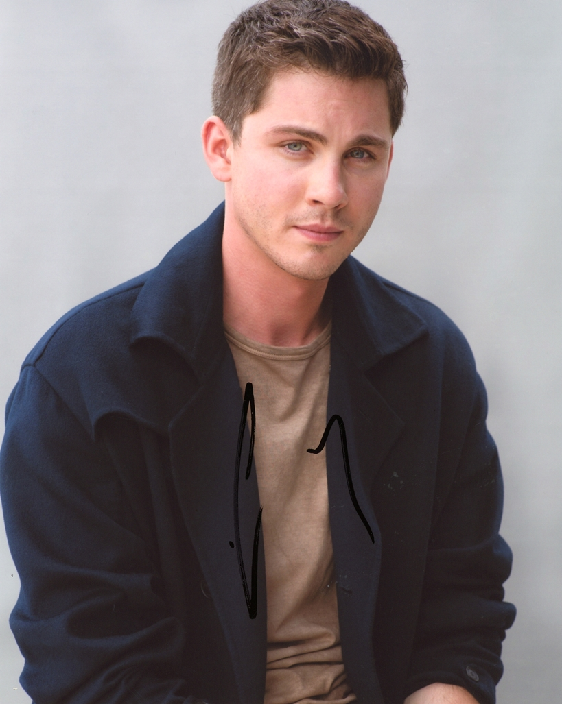 Logan Lerman Signed Photo