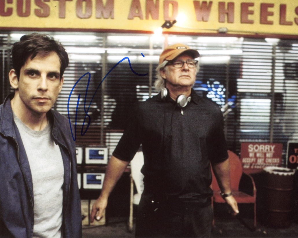 Barry Levinson Signed Photo
