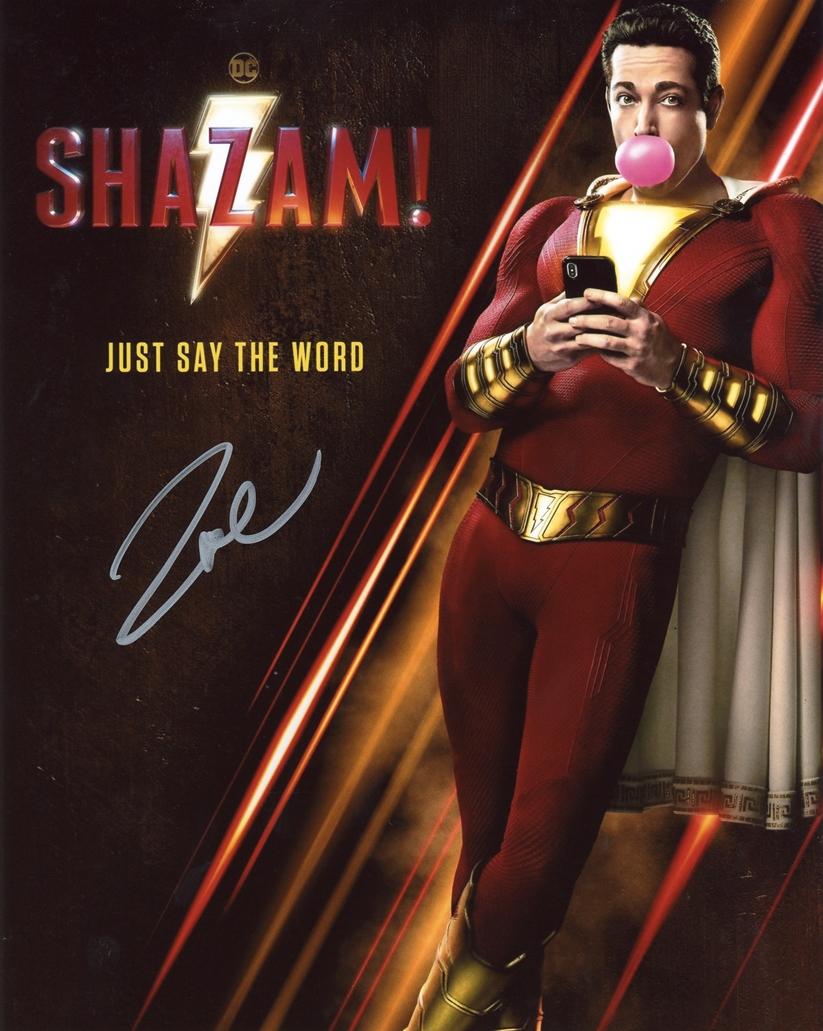 Zachary Levi Signed Photo