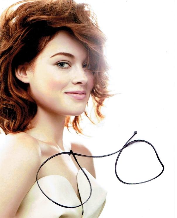 Jane Levy Signed Photo