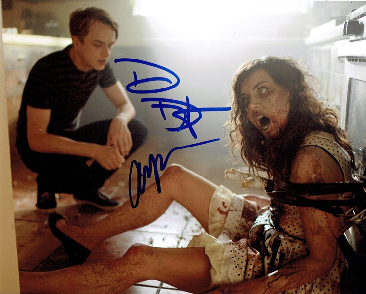 Aubrey Plaza & Dane DeHaan Signed Photo