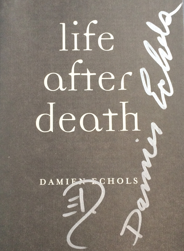 Damien Echols Signed Book