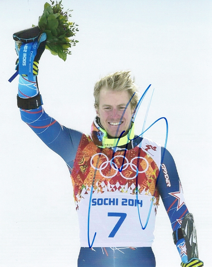 Ted Ligety Signed Photo